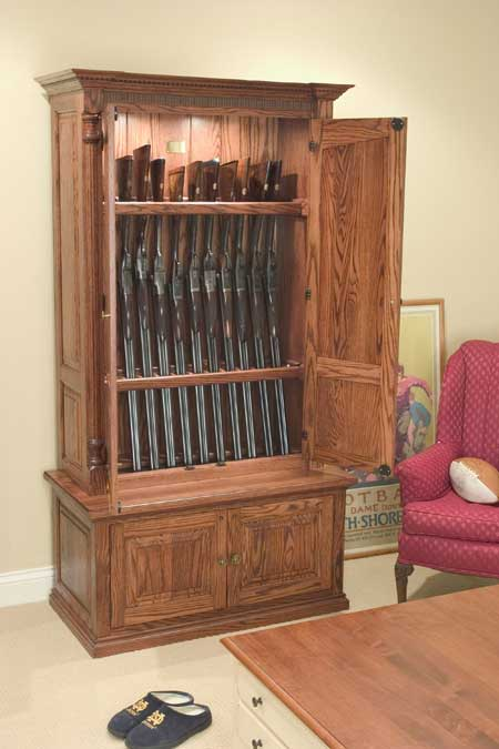Lote Wood: Coffee table hidden gun cabinet plans