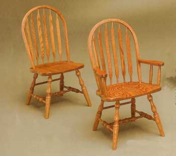 Amish Made Bent Paddle Chair
