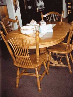 Woodloft Org Custom Amish Made Furniture Oval Tables