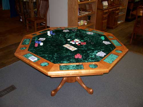 Woodloft Org Custom Amish Made Furniture Poker Amp Game